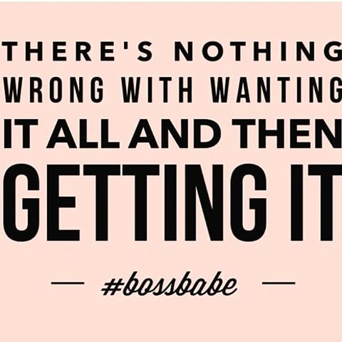 There Is Nothing Wrong With Wanting It All